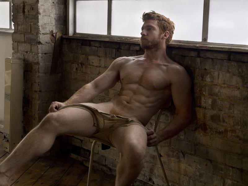 Paul nude photography male freeman